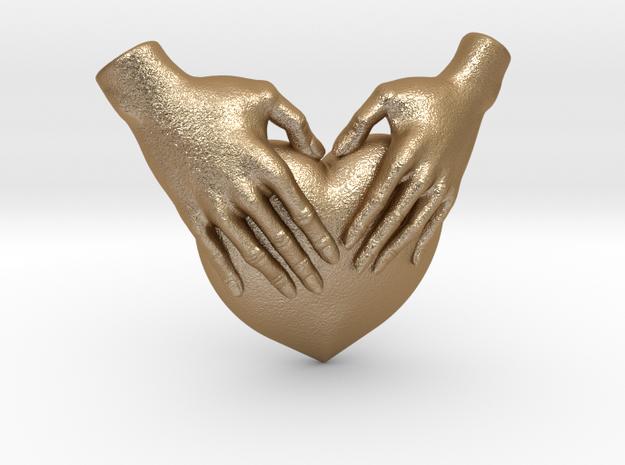 EmeDeÚ Necklace in Matte Gold Steel