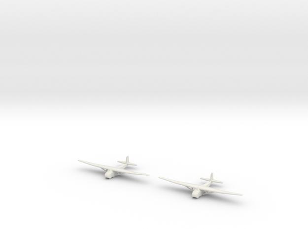 Me-321 German Glider 1/700 X2 in White Natural Versatile Plastic