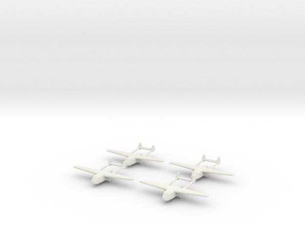 Go-242 German Glider 1/600 X4 3d printed