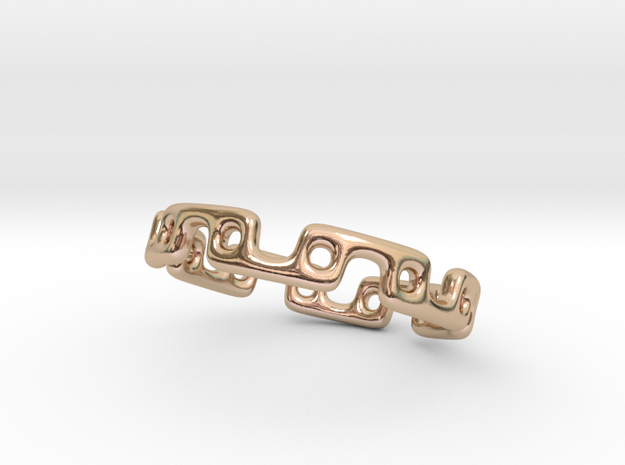 Alternating Links - Ring 3d printed