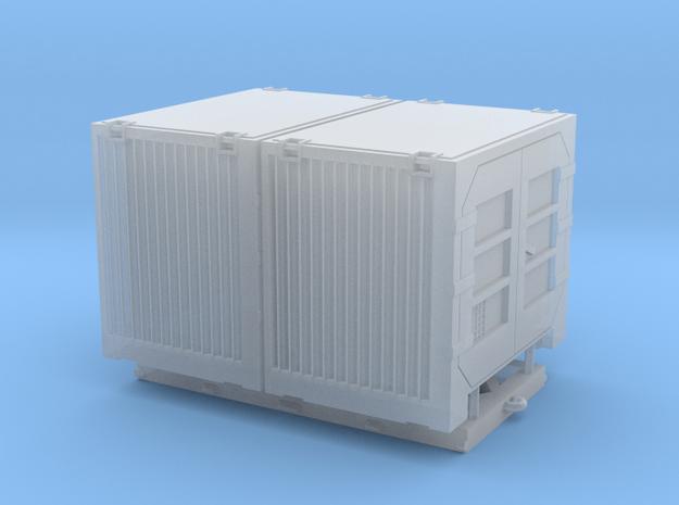 Überseebehälter Contrans 5m³ doppelt in Smooth Fine Detail Plastic