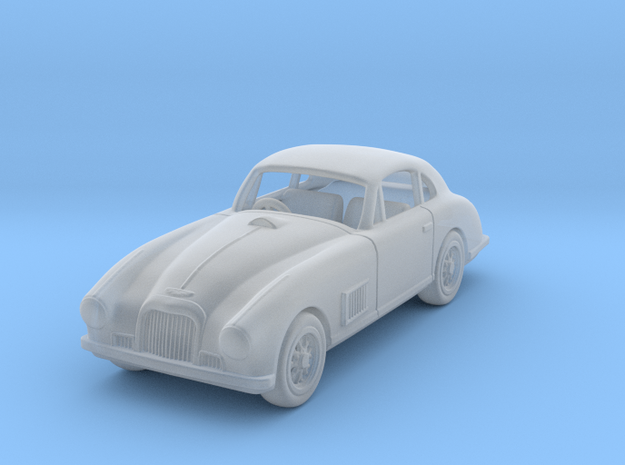 Aston Martin 1950 DBS 1:87 HO in Smooth Fine Detail Plastic