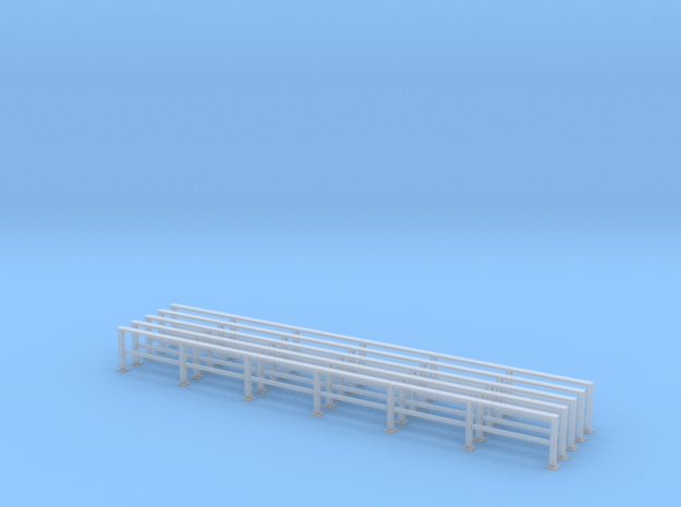 '1-50 Scale' - Guardrail in Smooth Fine Detail Plastic