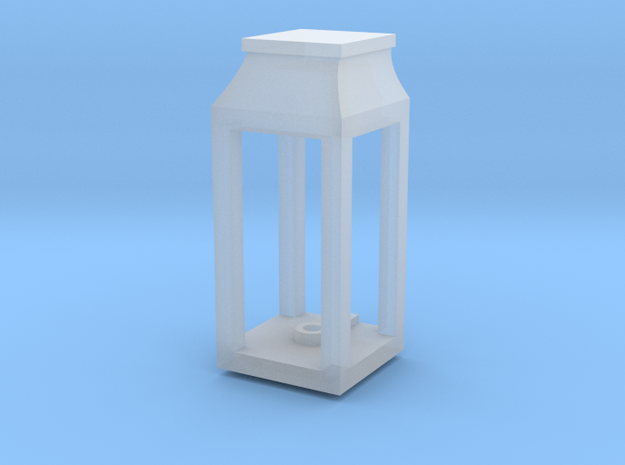 Wall Single Lantern (0.089in hole) in Smooth Fine Detail Plastic