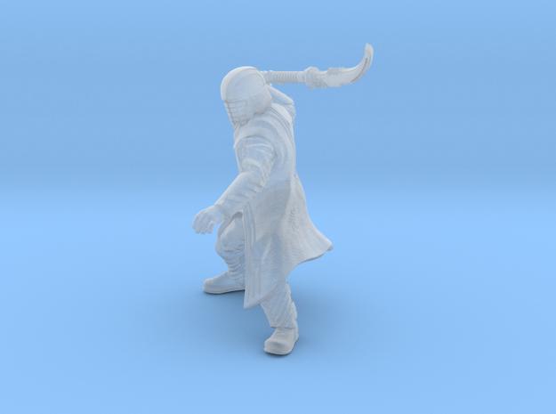 Dark Warrior Scythe in Smooth Fine Detail Plastic