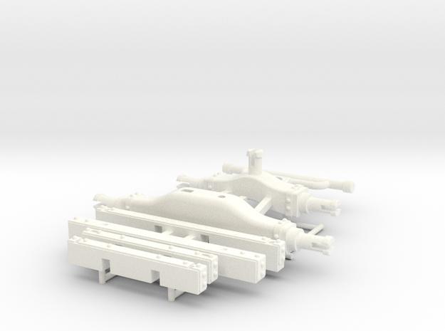BERLINE PART 4.2  in White Processed Versatile Plastic