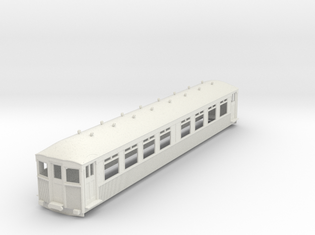 o-43-mersey-railway-1923-trailer-coach in White Natural Versatile Plastic
