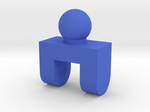LINK_10 in Blue Processed Versatile Plastic