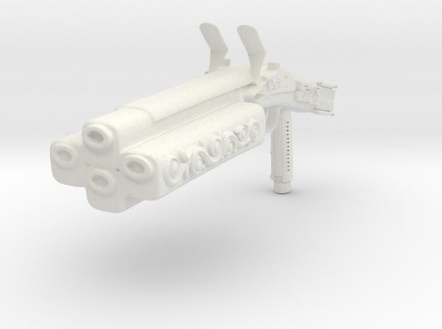 Steam Impaler in White Natural Versatile Plastic