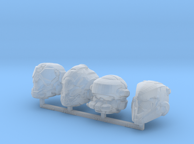 MB_MCX Halo 5 Helmets 4 in Smooth Fine Detail Plastic