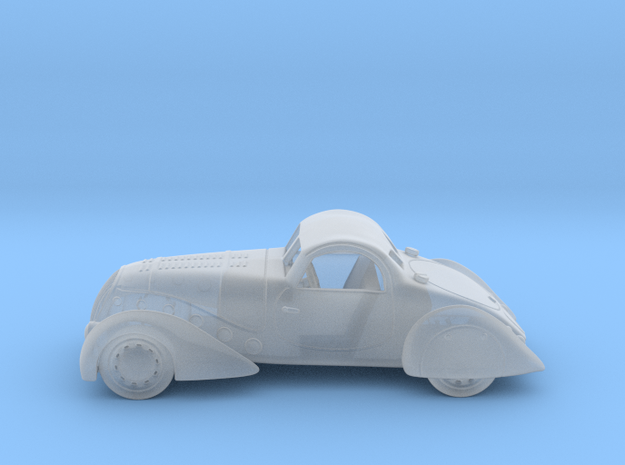 Peugeot 402 1838 1:160 N in Smooth Fine Detail Plastic