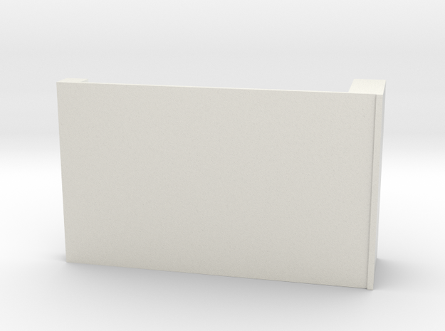 CNR Diner Locker wall (Right side) in White Natural Versatile Plastic