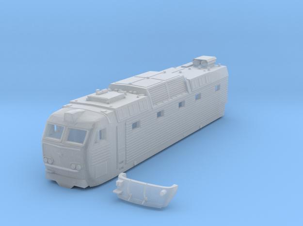chs 7  soviet locomotive in Smoothest Fine Detail Plastic: 1:160 - N