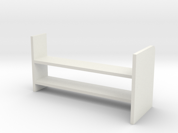 Luggage Rack in White Natural Versatile Plastic