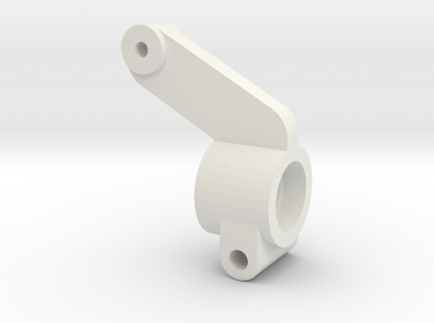 TRAXXAS TRX1 STUB AXLE HOUSING in White Natural Versatile Plastic