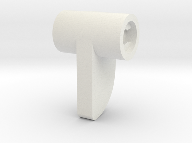 08.02.11.05 Cam Rev1 in White Natural Versatile Plastic