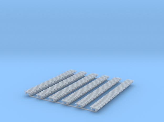 Kette 2 steg 12 mm (600 mm) innen 5mm 1:50 in Smooth Fine Detail Plastic