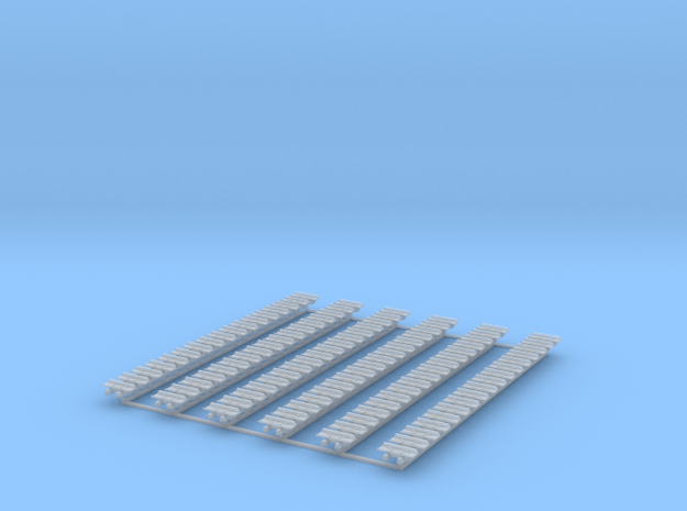 Kette 1 steg 13,2 mm (560 mm) innen 3,5mm 1:50 in Smooth Fine Detail Plastic