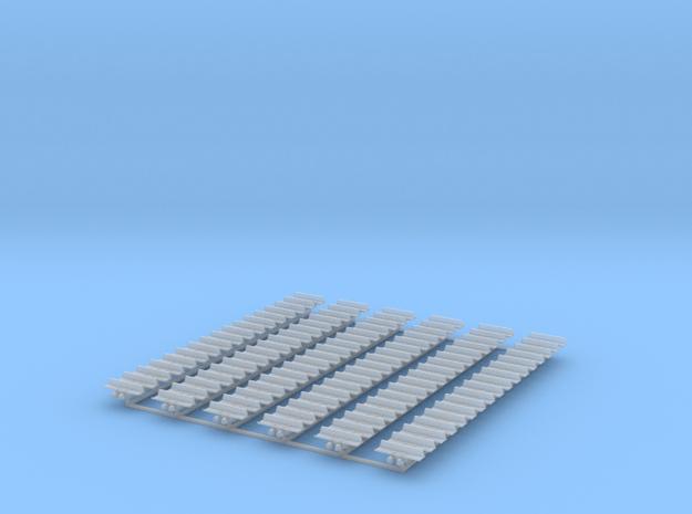 Kette 1 steg 14,2mm (710 mm) innen 2mm 1:50 in Smooth Fine Detail Plastic