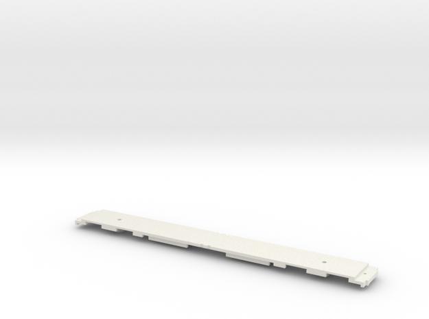 GCR 1911 Corridor Frame for N Gauge 2mm Scale in White Natural Versatile Plastic