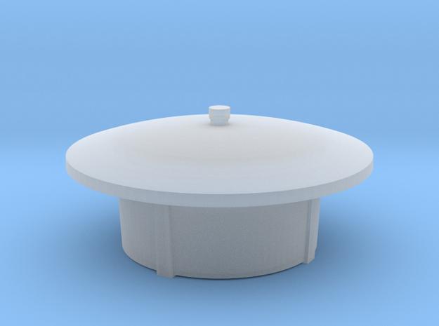 Leuchtenkopf für Parklaterne in Smooth Fine Detail Plastic