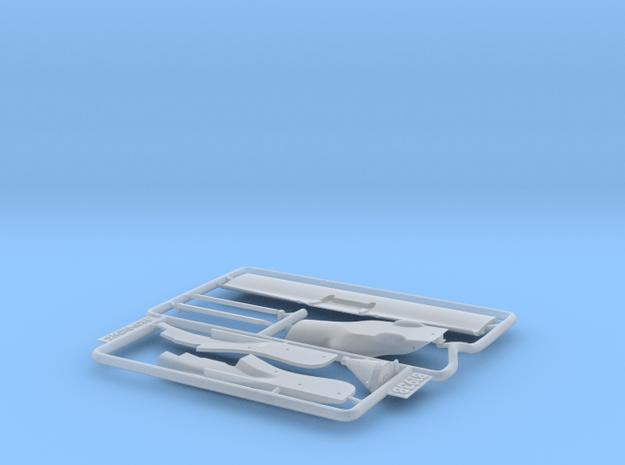 1/20 Benetton B193B conversion set in Smooth Fine Detail Plastic