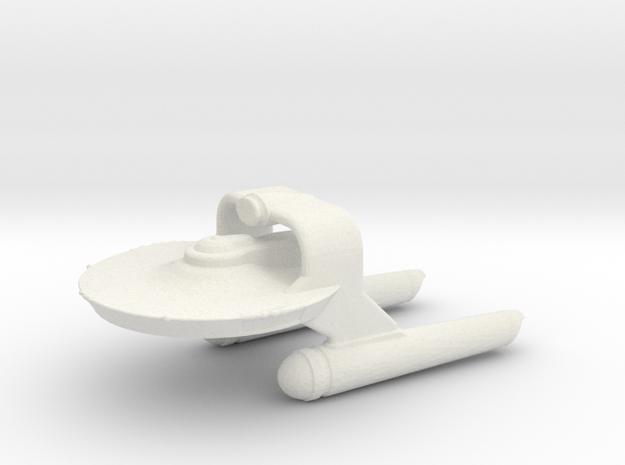 Tos Science Vessel in White Natural Versatile Plastic