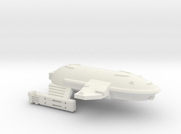 3125 Scale WYN Barracuda Frigate (FF) CVN in White Natural Versatile Plastic