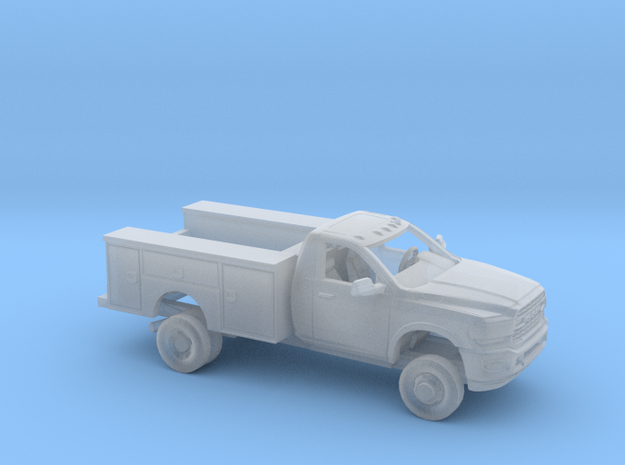 1/160 2020 Dodge Ram Regular Cab Utillity Kit in Smooth Fine Detail Plastic