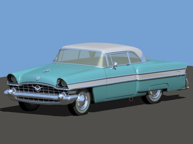 1956 Packard Executive (2 Vehicles) in Smooth Fine Detail Plastic