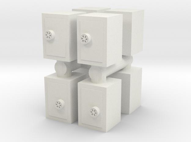 Safe (x8) 1/120 in White Natural Versatile Plastic