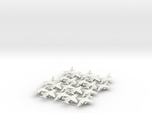 Harrier AV-8B 20x in White Natural Versatile Plastic