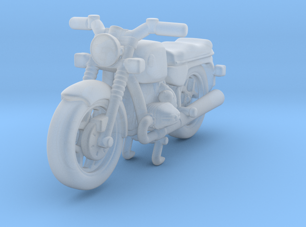 Classic Motorcycle 1:87 HO in Smooth Fine Detail Plastic