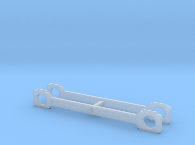 OO Scale NWR #11 Side Rods in Smoothest Fine Detail Plastic