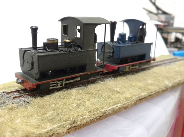 Couillet/Decauville 2.5t With Parasol Cab for O9/O in Smooth Fine Detail Plastic