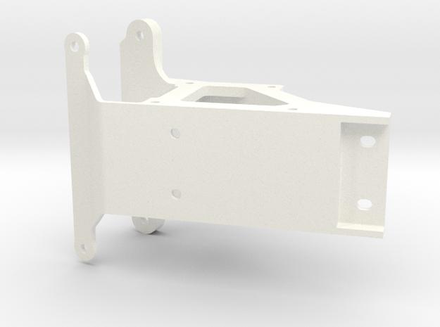 056009-01 Falcon Front Bulkhead, Stock Replacement in White Processed Versatile Plastic
