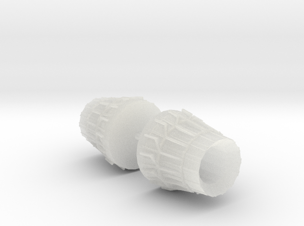 004A 1/144 F-15 Nozzle - Closed 3d printed