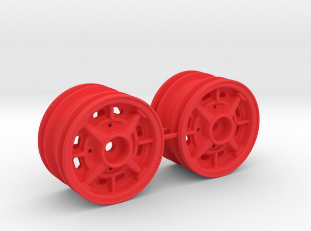 Alufelgen Trabant 601 Sport in Red Processed Versatile Plastic