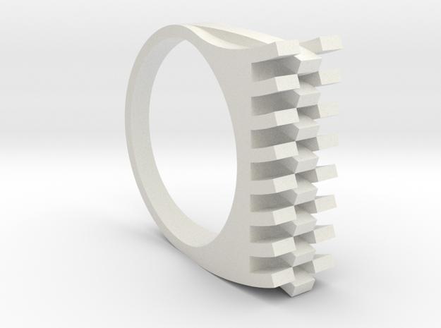 Tri-Fold Edge Ring - US Ring Size 07