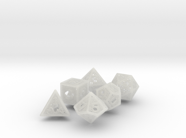 Woven Dice - Big 3d printed