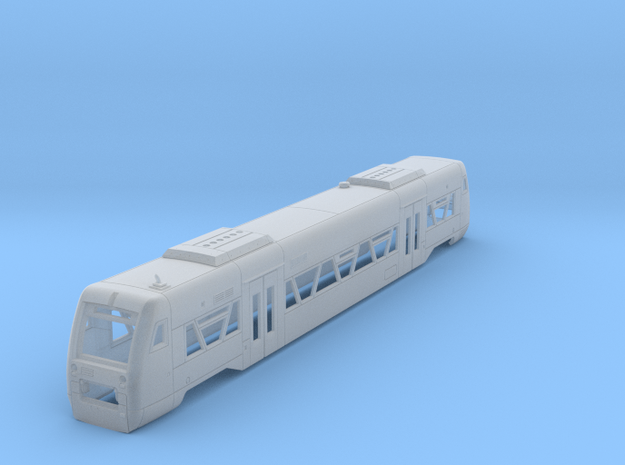 N09A - Oberpfalzbahn RegioShuttle RS1 - Part A  in Smooth Fine Detail Plastic