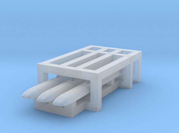 Akula sub 1/3000 x3 in Smooth Fine Detail Plastic