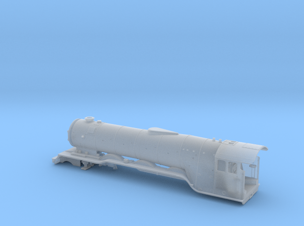 A0 - H0 Scale - A3 Flying Scotsman BODY in Smooth Fine Detail Plastic