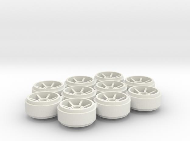 SCX_Porsche_238 in White Natural Versatile Plastic