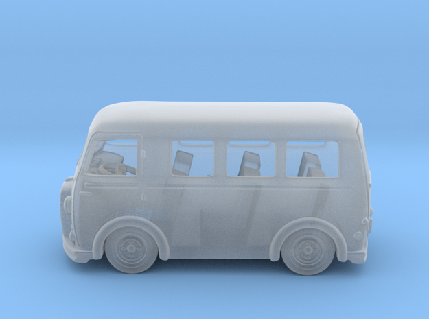 Peugeot Fourgon d4a 1:160 N in Smooth Fine Detail Plastic