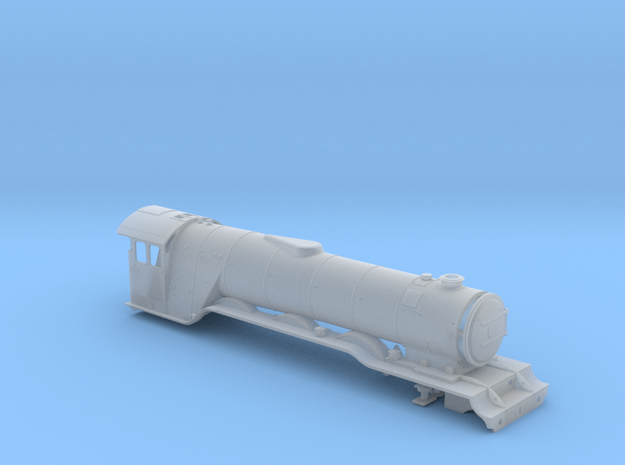 A0 - A3 Flying Scotsman BODY in Smooth Fine Detail Plastic