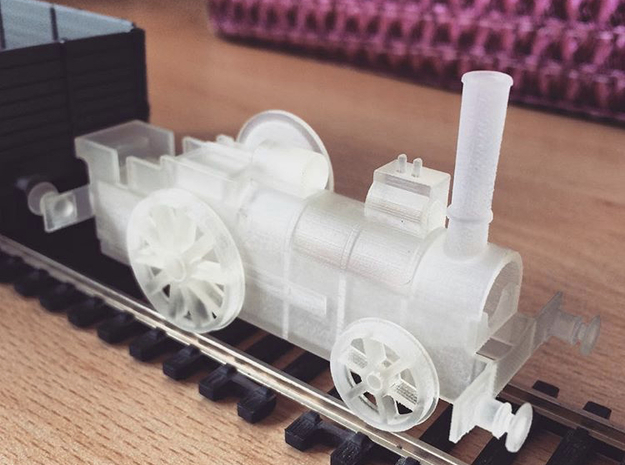 """OO Aveling Porter """"Blue Circle"""" Wheels in Smooth Fine Detail Plastic"""