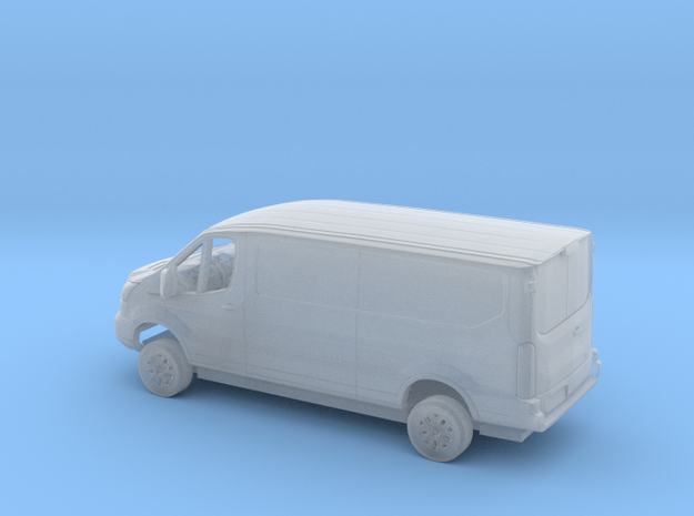 1/160 2018 Ford Transit Flat Delivery Kit in Smooth Fine Detail Plastic