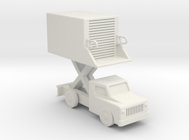 039A Catering Truck 1/144 in White Natural Versatile Plastic