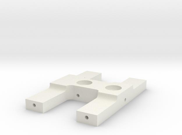 JaBird RC Rear Hardbody Mount in White Natural Versatile Plastic